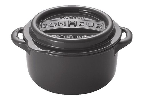 Bonheur NEW lunchpot M dark gray