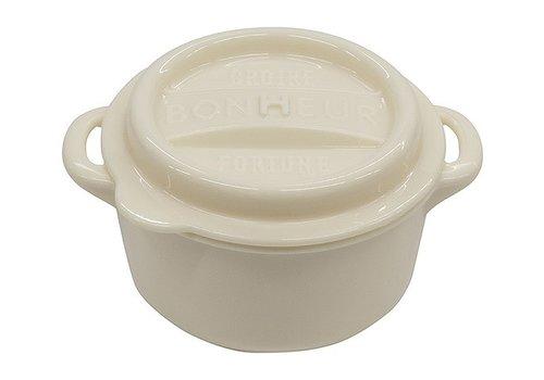 Bonheur new lunch pot M white