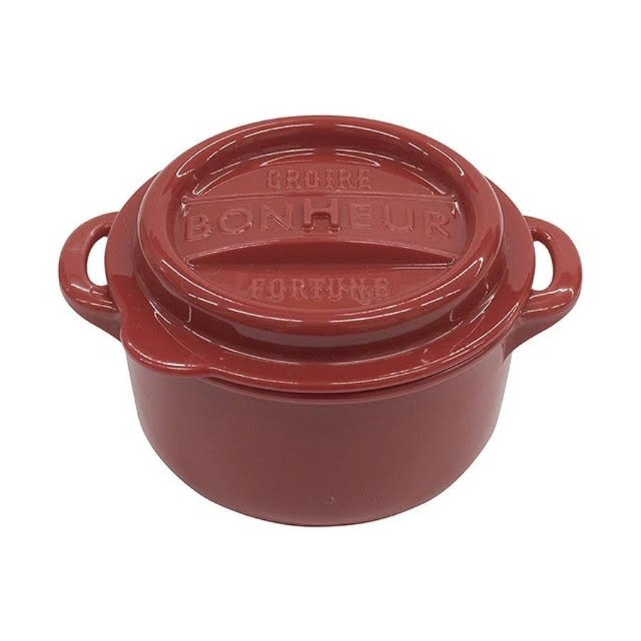 Bonheur new lunch pot M red-1