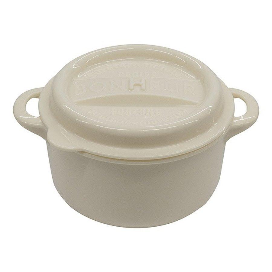 #Bonheur new lunch pot L white-1