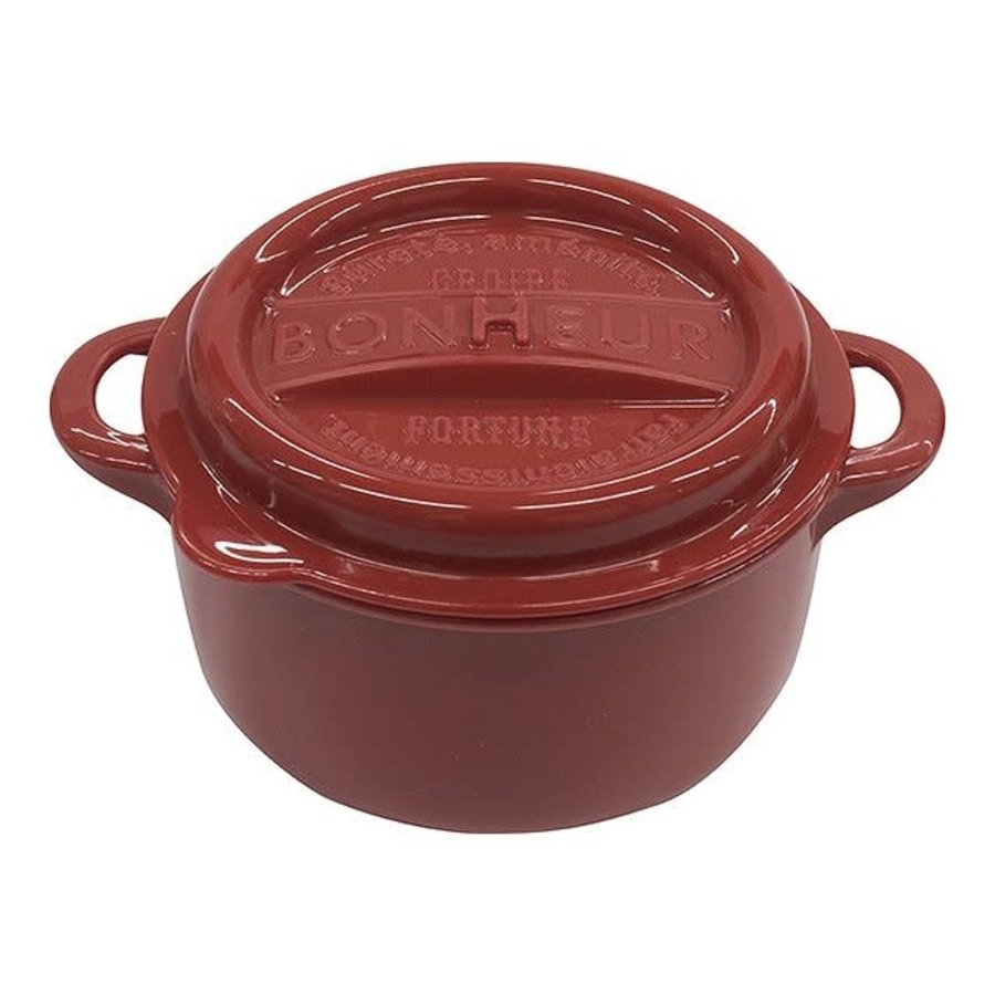Bonheur new lunch pot L red-1