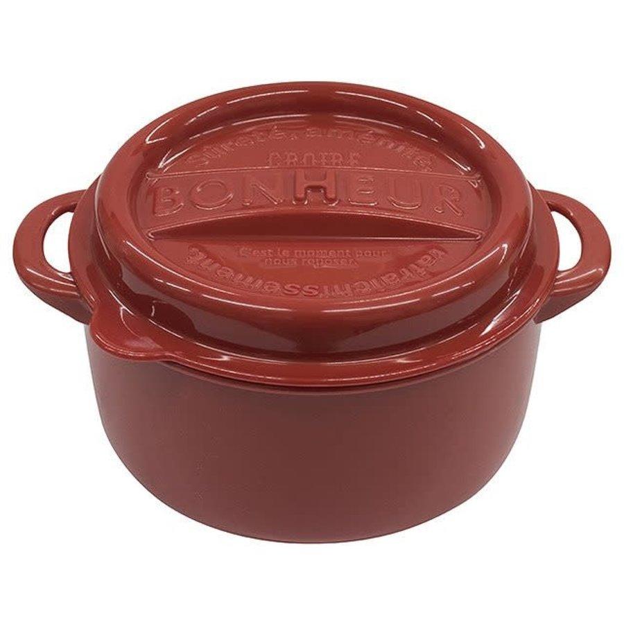 #Bonheur new lunch pot LL red-1