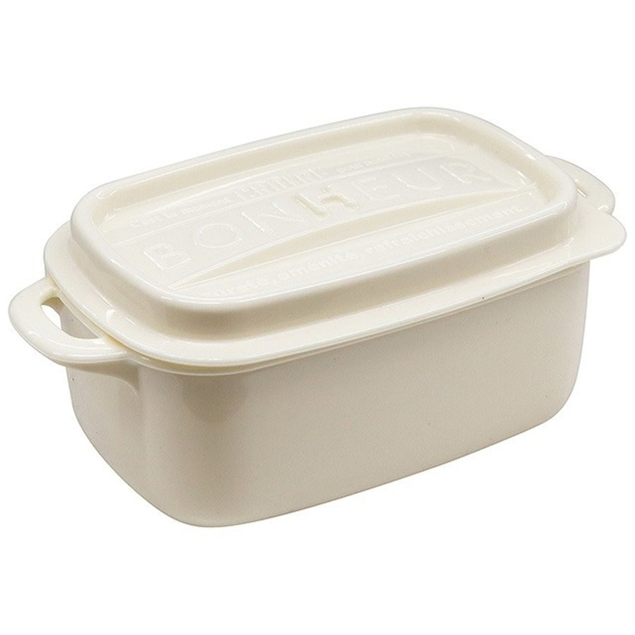 #Bonheur lunch square LL C white-1