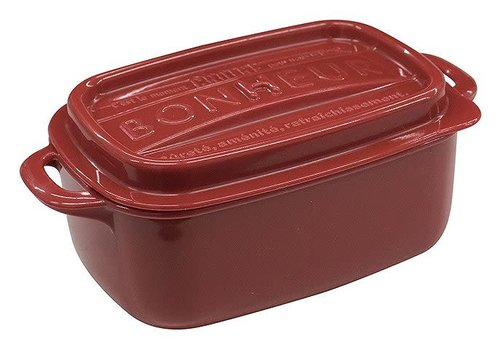 Bonheur lunch square LL red