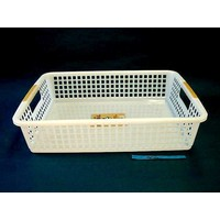 Plastic basket with hole handle, A4