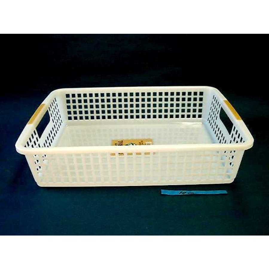 Plastic basket with hole handle, A4-1