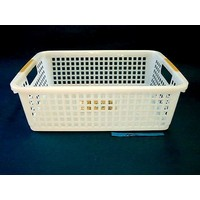 Plastic basket with hole handle, B5