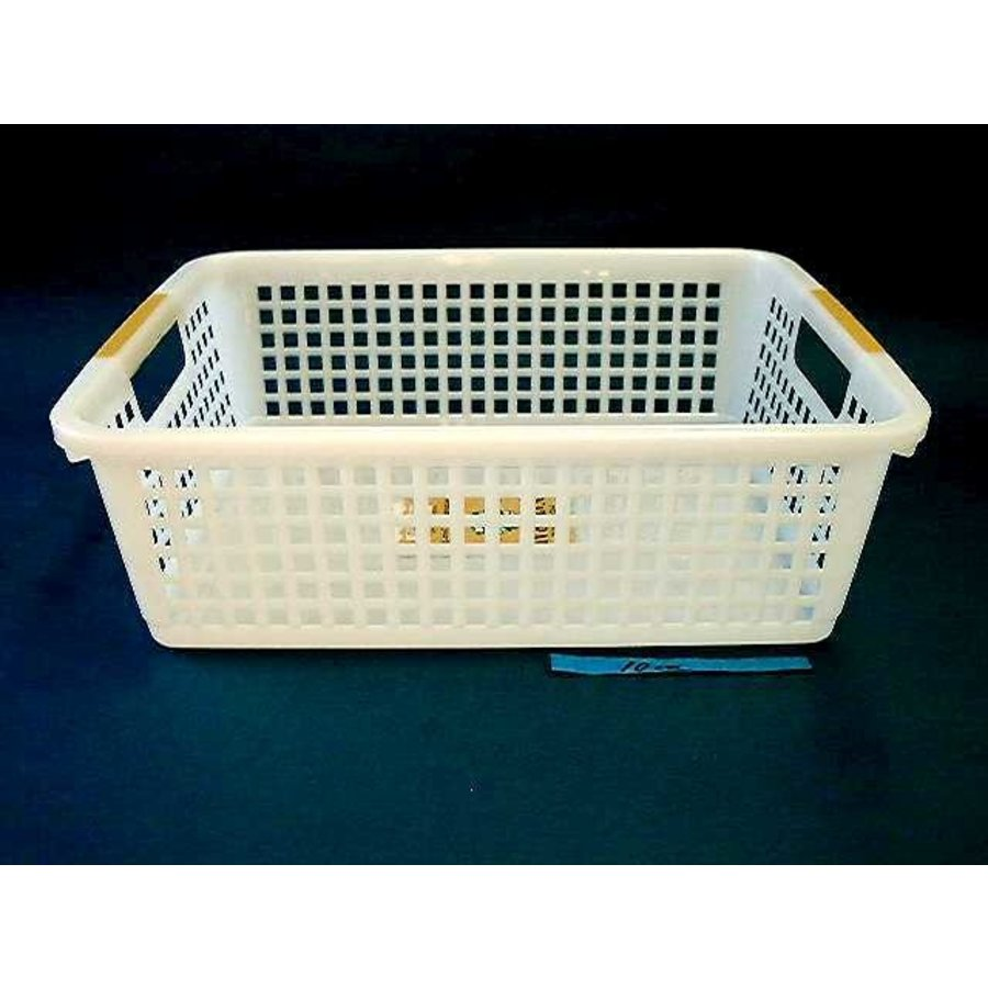 Plastic basket with hole handle, B5-1