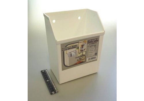 Desk labo mail box white