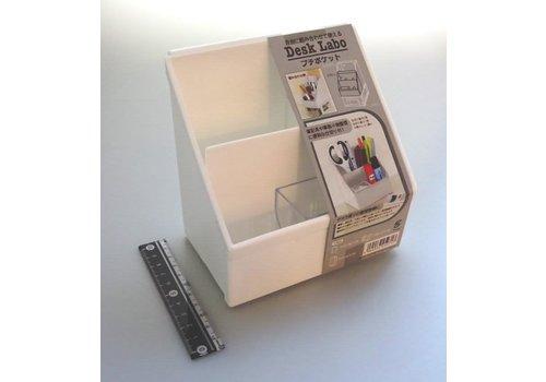 Desk organizing stand, white