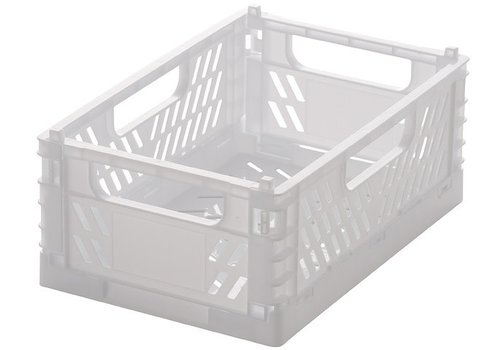 Folding container M90 white