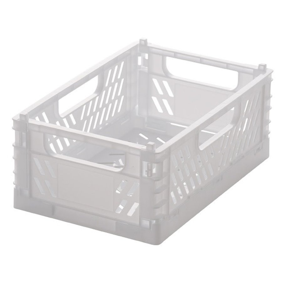 Folding container M90 white-1