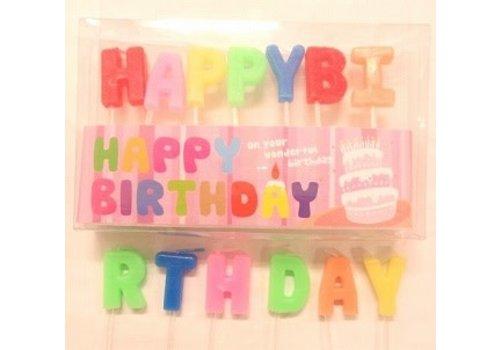 Birthday candle set:PB