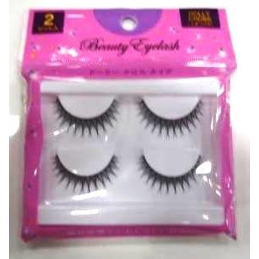 B eye lash 2p dolly c-1