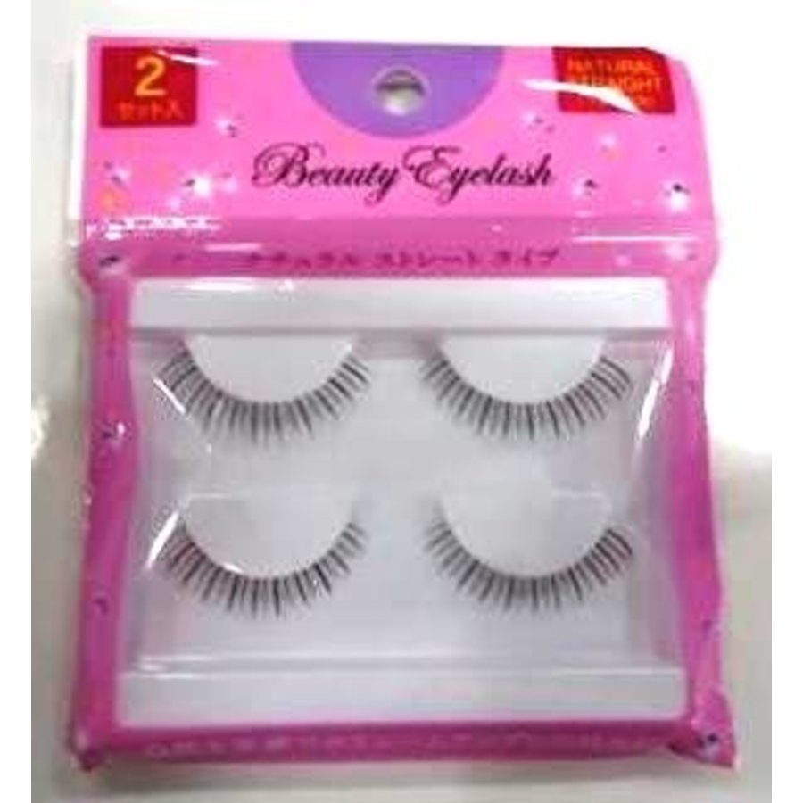 B eye lash 2p under natural s-1