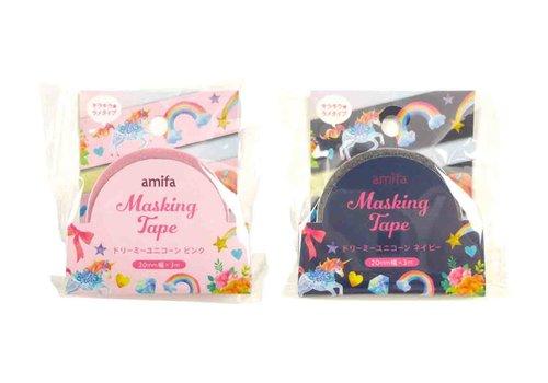 Unicorn Series) masking tape 20mm