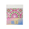 Design paper 15P kaleidoscope pattern