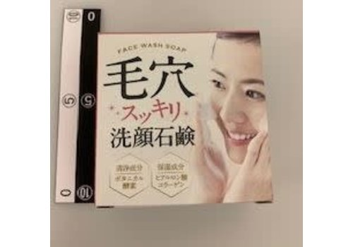 Facial soap for cleaning pore, 80g