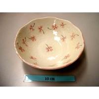 14.5cm bowl Clover pink