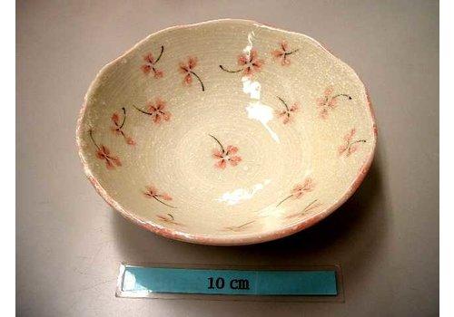 Bowl Clover pink 14.5cm