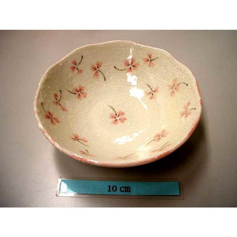 14.5cm bowl Clover pink-1