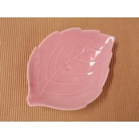 leaf plate Pink