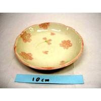 Schaaltje roze kersenbloesenpatroon, 12 cm