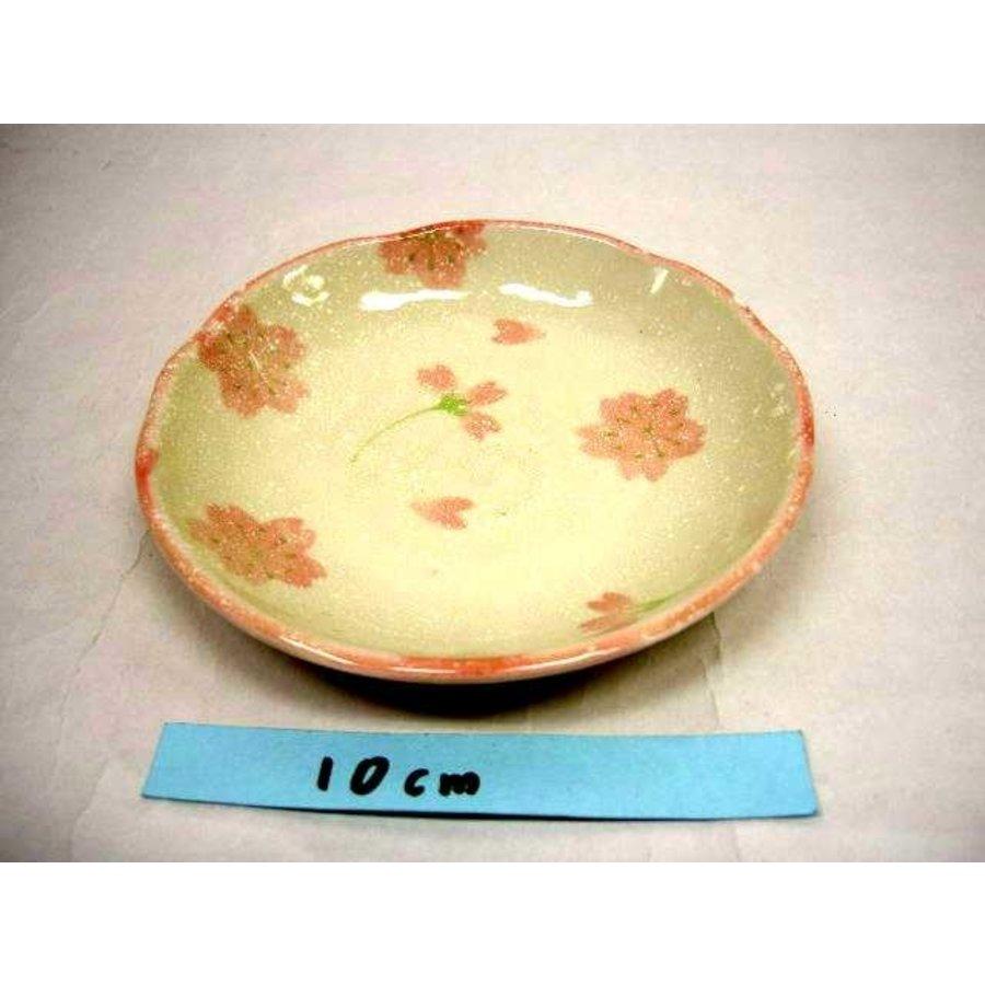Schaaltje roze kersenbloesenpatroon, 12 cm-1