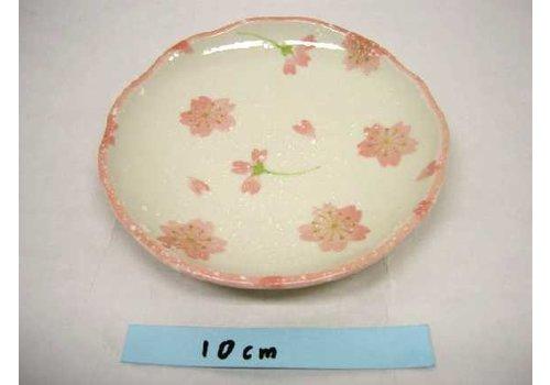 14cm oval plate Sakura sakura