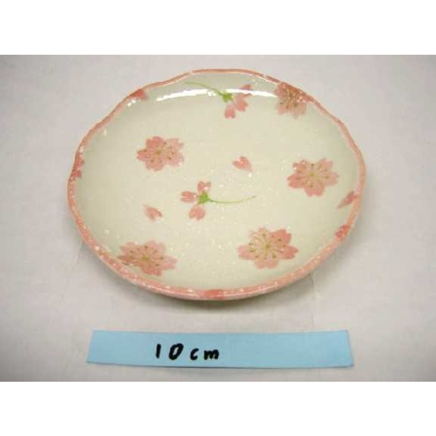 14cm oval plate Sakura sakura-1