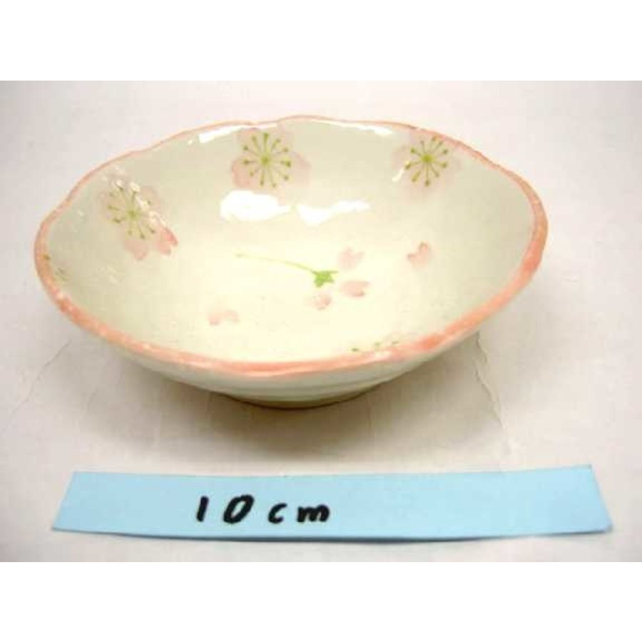 Schaaltje roze kersenbloesenpatroon, 11 cm-1