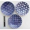 3.8 flat plate azure blue small pattern