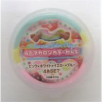 4 color macaroon color clay