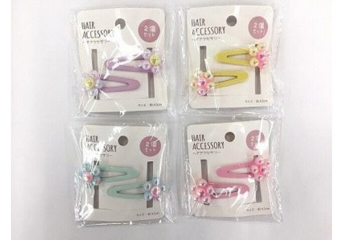 Hairpin pearl flower 2P