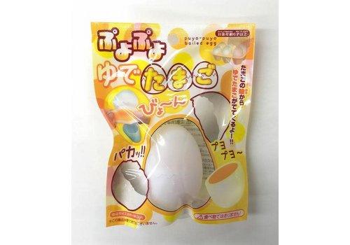 Jelly-like boiled egg