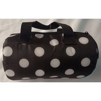 Keep warm/cold drum shape tote bag dot : PB