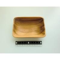 Acacia small dish rectangle : PB