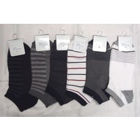 Men's sneaker socks border