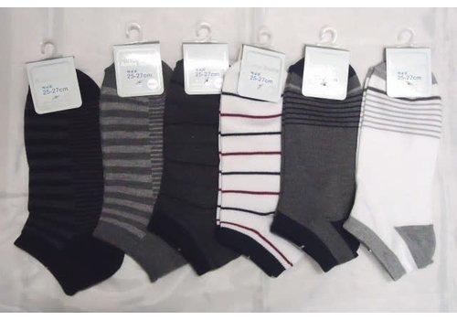 Men's sneaker socks border