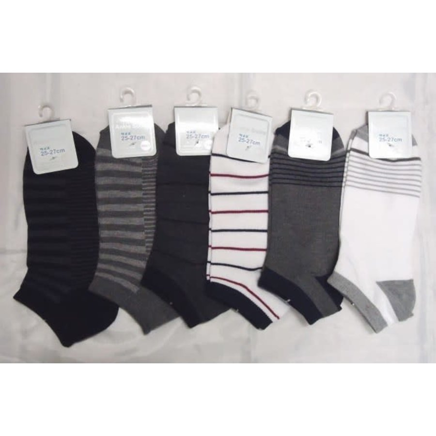 Men's sneaker socks border-1