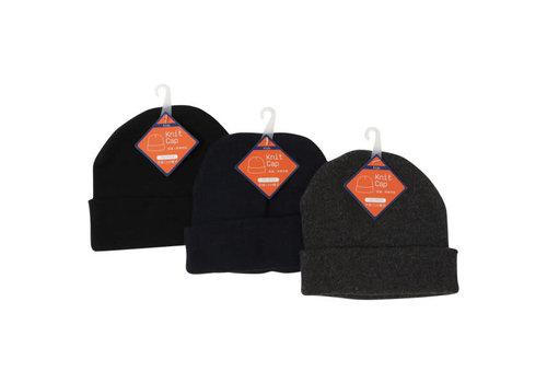 Kid's knit hat plain