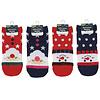 Kids short socks Christmas pattern 15-19