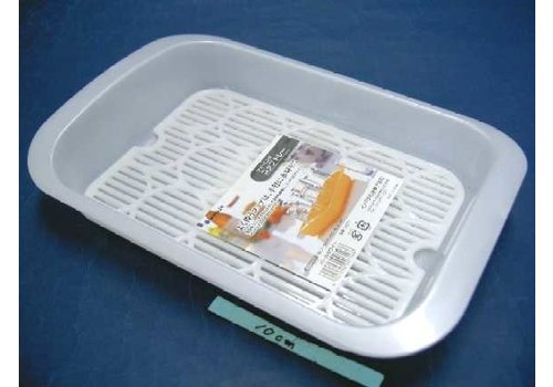 PLASTIC CUP TRAY PEARL WHITE