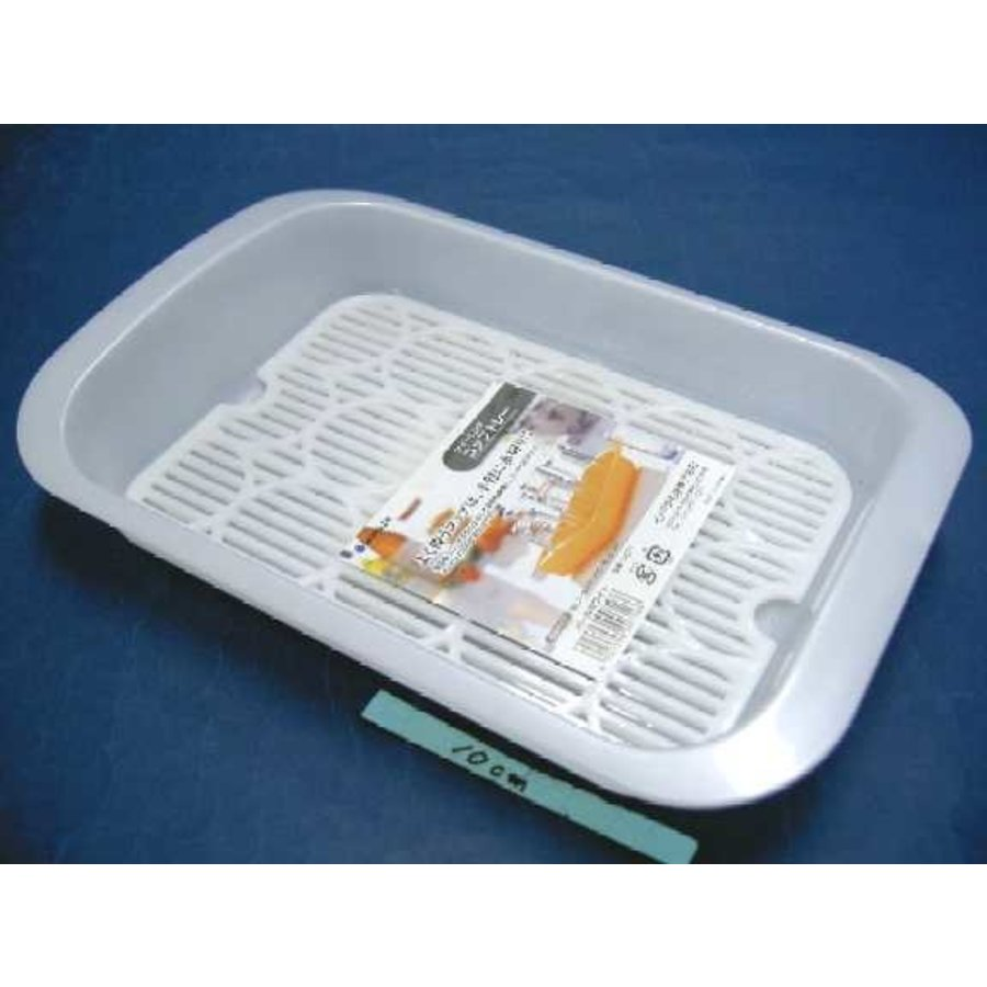 PLASTIC CUP TRAY PEARL WHITE-1