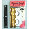 Glamorous fake eye lashes 10 short cross BrM