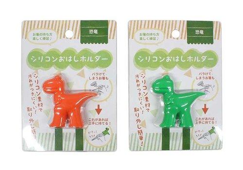 Silicone chopsticks holder (dinosaur)