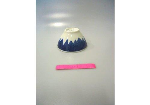 Kommetje blauw Fuji-berg ontwerp, 12 cm