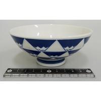 Mt. Fuji rice bowl (blue)