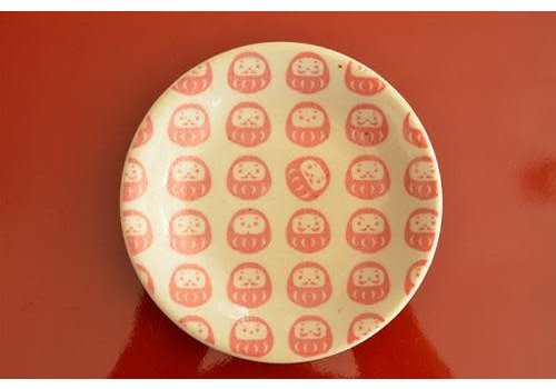 Powdered daruma (red)