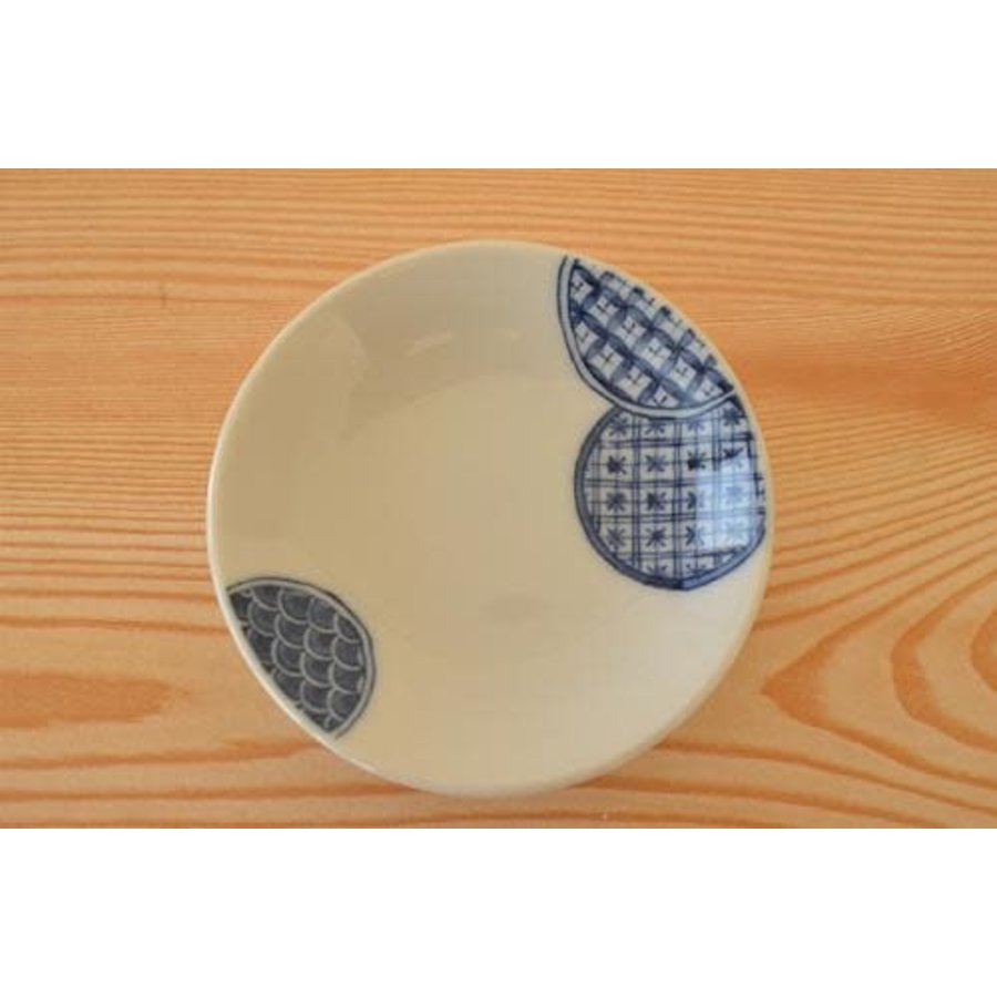 Schaaltje Engi no Utsuwa, cirkelpatroon, 9 cm-1